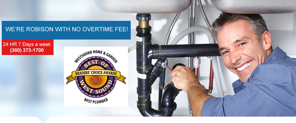 Plumbing & Sewer Repair Bremerton WA | Drain Cleaning & Water