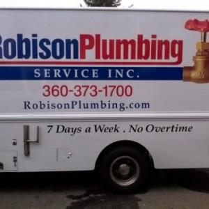 Robison Plumbing trailer